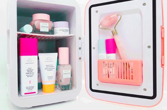 Et si tu avais un frigo spécialement dédié à tes produits de beauté?