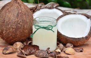 huile de coco vs. huile d'argan