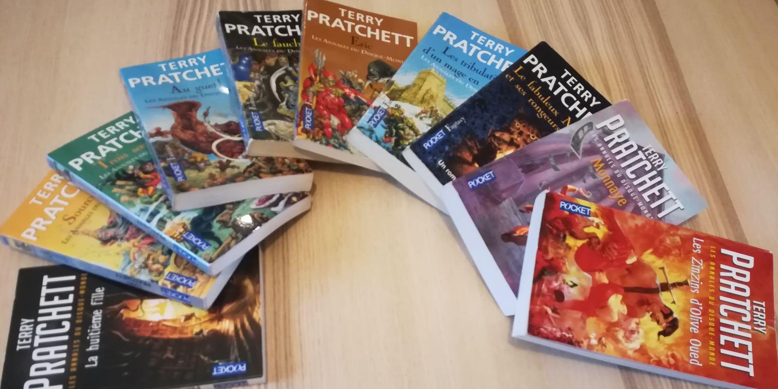Pourquoi les livres de Terry Pratchett sont mon remède anti-déprime