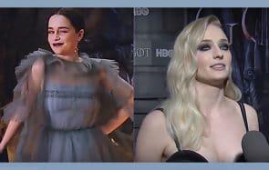 Les stars de Game of Thrones défilent pour la 1ère diffusion de la saison 8