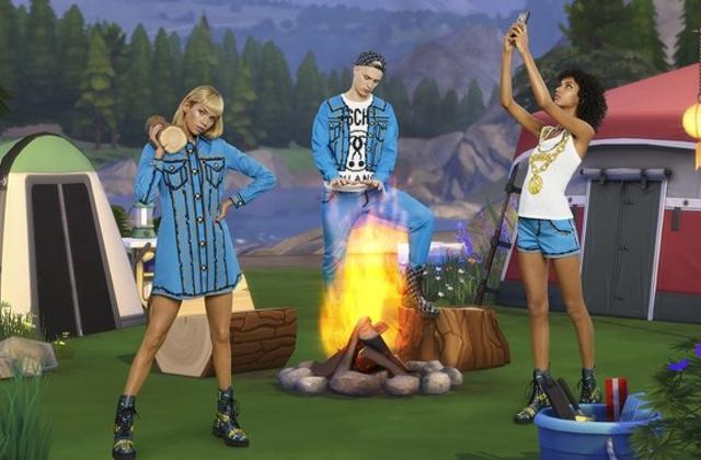 Une collection mode inspirée par… Les Sims!