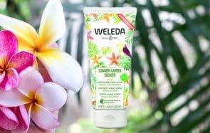 La nouvelle crème de douche Weleda a comme un parfum d'été
