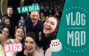 Vlogmad 163 — LMK en live et l'accordéon humain