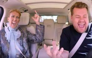 carpool karaoke Céline Dion