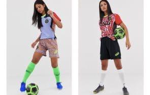 ASOS célèbre le foot féminin dans une collection haute en couleurs