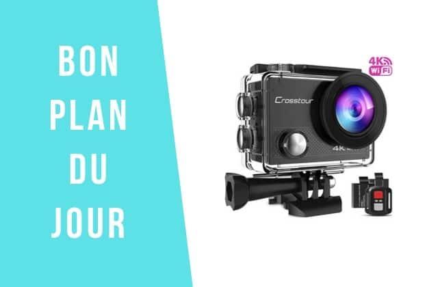 Bon plan du jour : une caméra grand angle (type GoPro) à 42€!