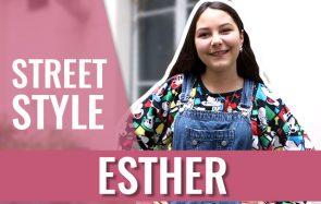 Esther, stagiaire de 3ème, et son sweat plus vieux qu'elle