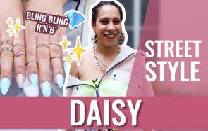 Daisy, ses accessoires bling-bling et ses influences R'N'B