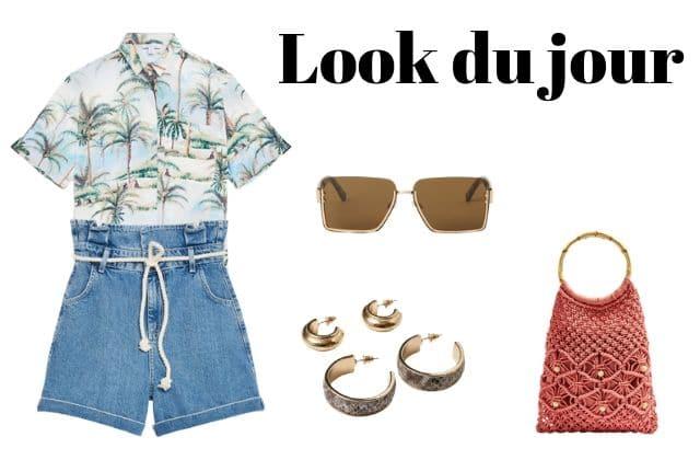 Look du jour : une tenue d'été vintage
