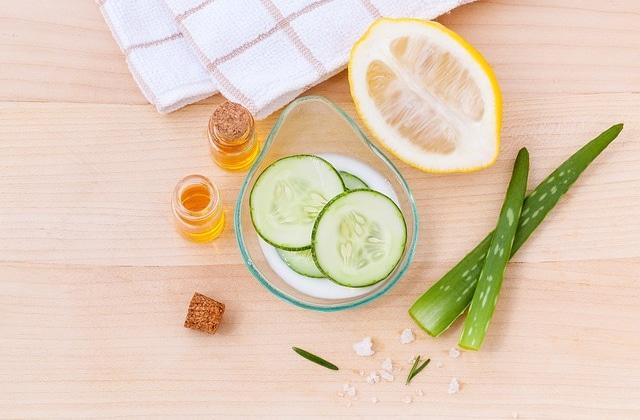 Routine naturelle pour peau grasse