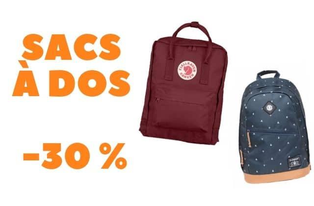 Bon plan du jour : des sacs à dos en promo sur Cultura !