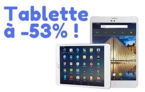 Bon plan du jour : une tablette tactile à -53%!