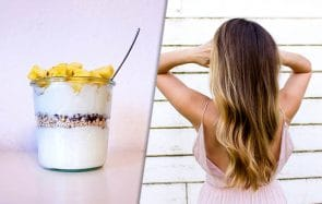 yaourt comme soin pour cheveux