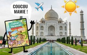 Fais voyager notre Cahier de Vacances cet été !
