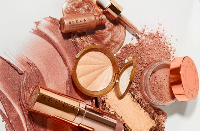 collection champagne pop de Becca
