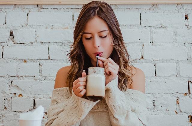 milk tea tendance cheveux