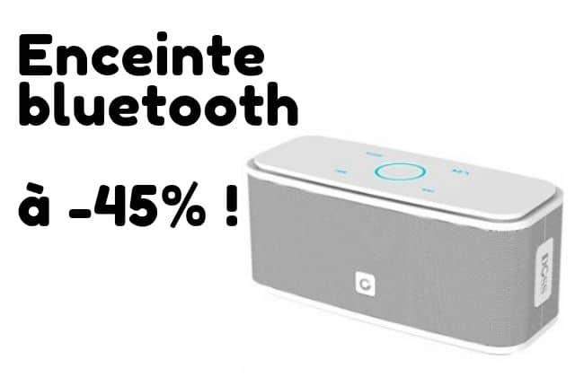 Bon plan du jour : une enceinte Bluetooth à -45%