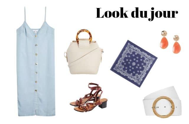 Look du jour : une robe légère en jean!
