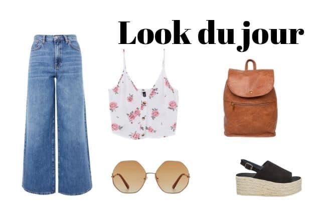Look du jour : adopte le jean large pour l'été!