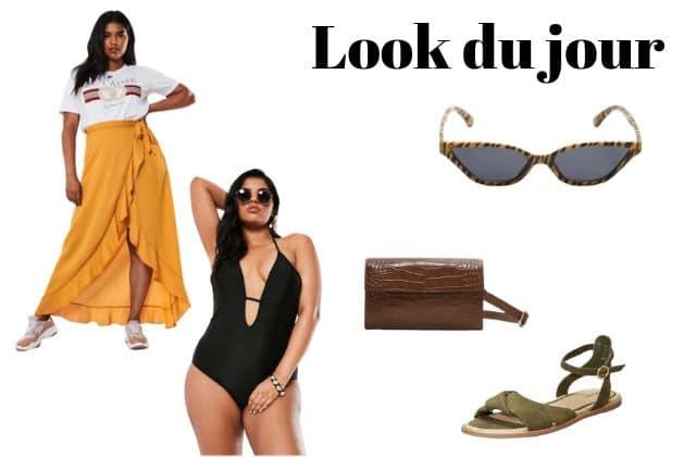 Look du jour : une tenue «grande taille» pour la plage!