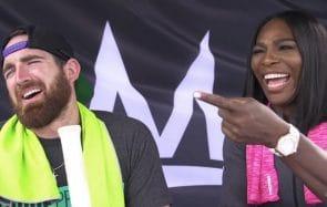 Serena Williams joue au tennis contre des mecs… la suite ne va pas t'étonner !