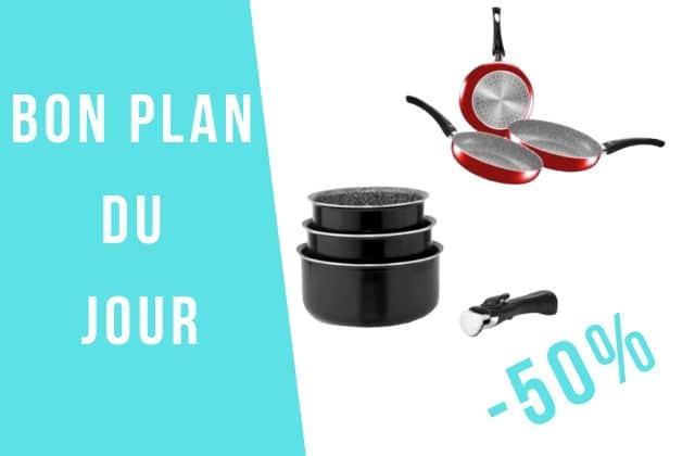Bon plan du jour : des offres jusqu'à -50% pour équiper ta cuisine !