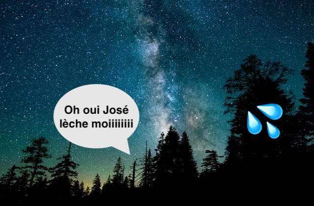 Ce cunnilingus insolite qui m'a fait voir les étoiles (littéralement)