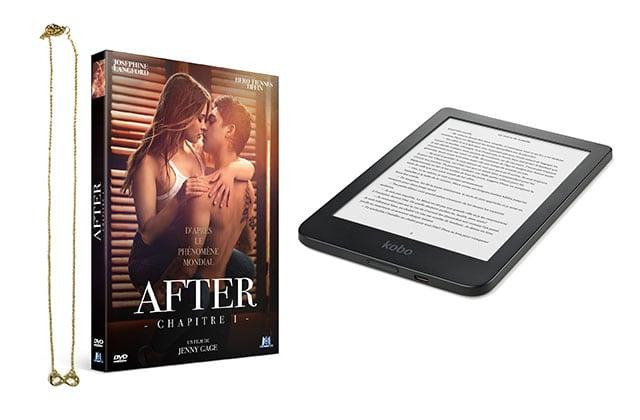 Gagne une liseuse Kobo et le DVD d'After – Chapitre 1, le film sulfureux adapté du roman à succès