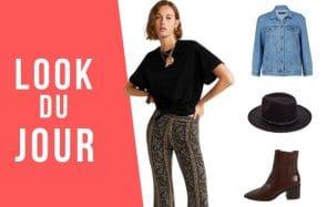Look du jour : un style hippie pour ta rentrée !