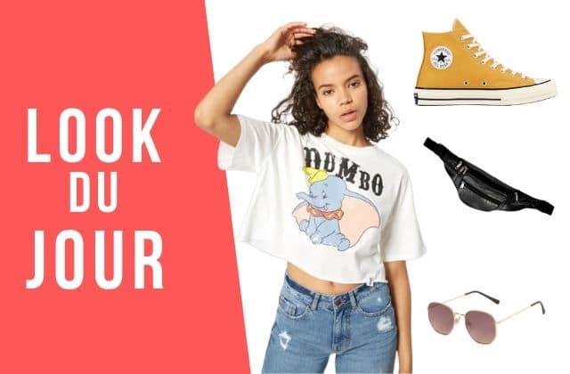 Look du jour : un t-shirt Dumbo pour illuminer ton style !
