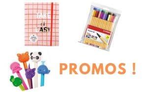 Bon plan du jour : des fournitures scolaires en promo sur Creavea !