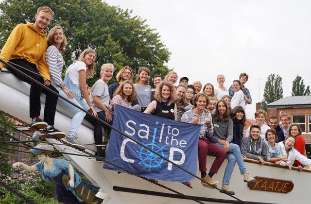 Je fais partie des 36 jeunes qui se rendent à la COP25… en voilier !