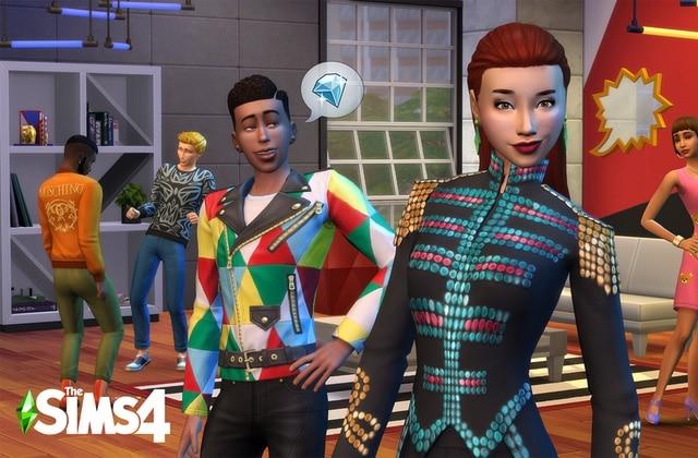 Interview avec Jeremy Scott sur la collaboration The Sims x Moschino