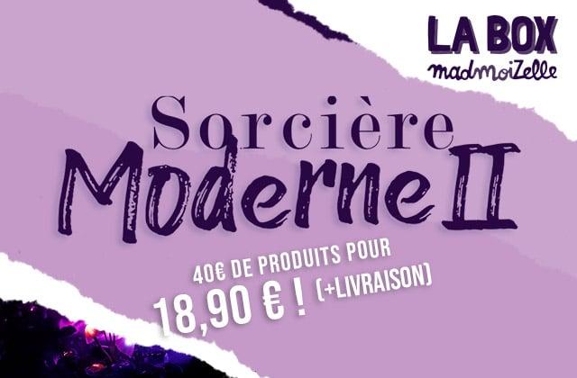 [SOLD OUT] La box madmoiZelle Sorcière moderne est de retour pour octobre!