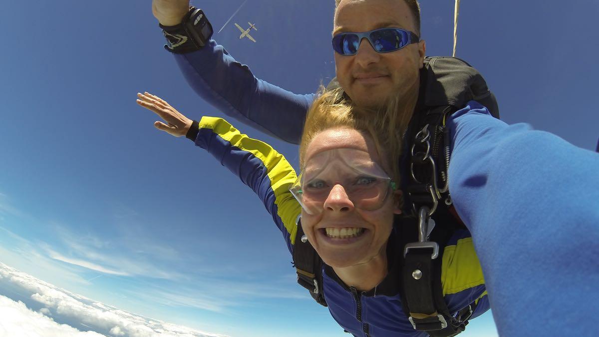 Comment j'ai trouvé le courage de sauter en parachute