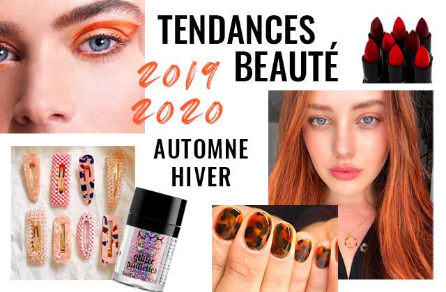 tendances beauté automne hiver 2019