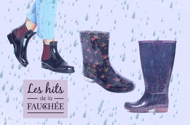 10 paires de bottes de pluie pour rayonner quand il fait gris (à moins de 30€)