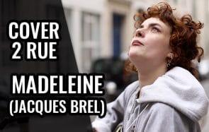 Charlie reprend «Madeleine» de Brel, et c'est très joli