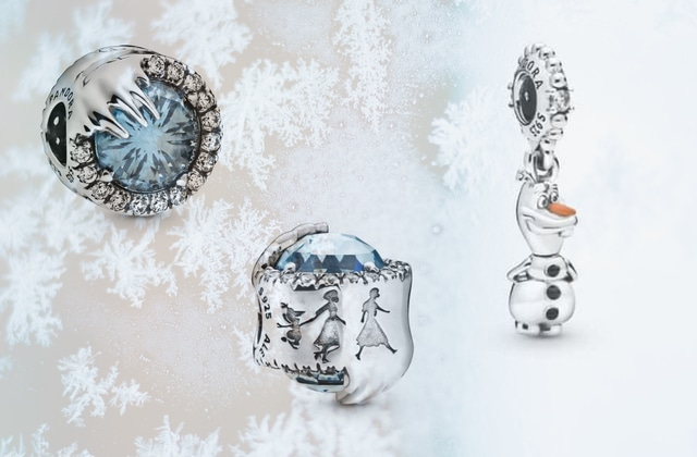 Les adorables bijoux La Reine des Neiges chez Pandora (et autres pépites Disney)
