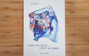 Léa Castor sort sa 1ère BD «Corps à cœur, cœur à corps»!