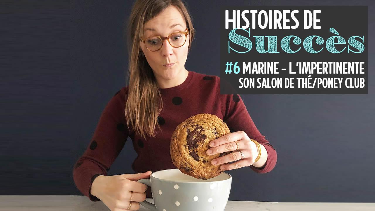 Comment Marine a monté L'Impertinente, son salon de thé / poney club, un phénomène à Lille