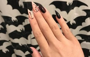 nail art witchy