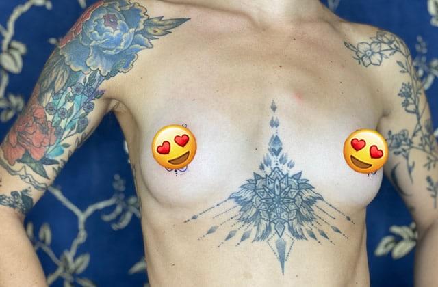 Marion Séclin raconte son tatouage des tétons!