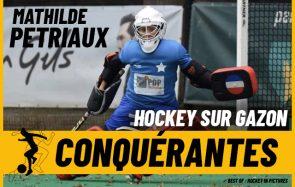 Rencontre Mathilde, « le mur » infranchissable de l'équipe de France de hockey sur gazon
