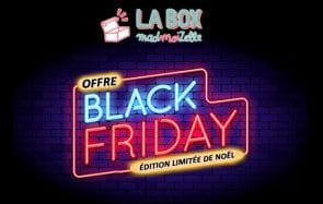 Black Friday : ta 1ère box madmoiZelle à 1€ !