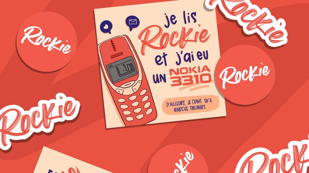 Reçois les nouveaux stickers Rockie gratuitement !