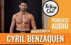 Cyril Benzaquen, le champion de kickboxing engagé pour Movember