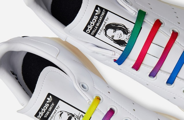 Des Adidas véganes aux couleurs de l'arc-en-ciel sont bientôt dispo