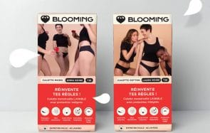 Les culottes menstruelles Blooming débarquent en grande surface !