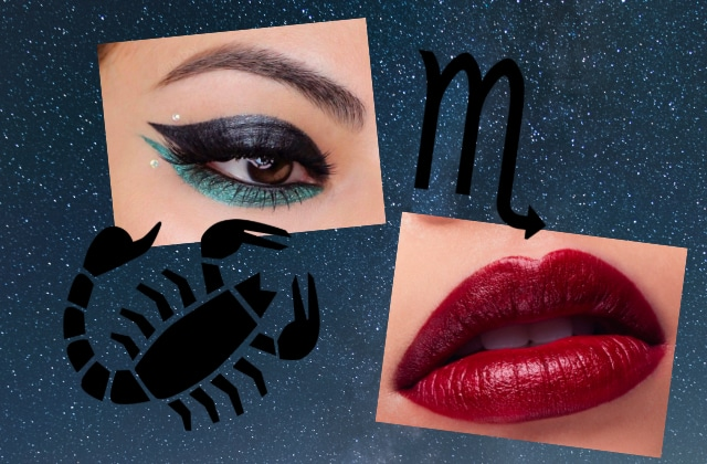maquillage scorpion